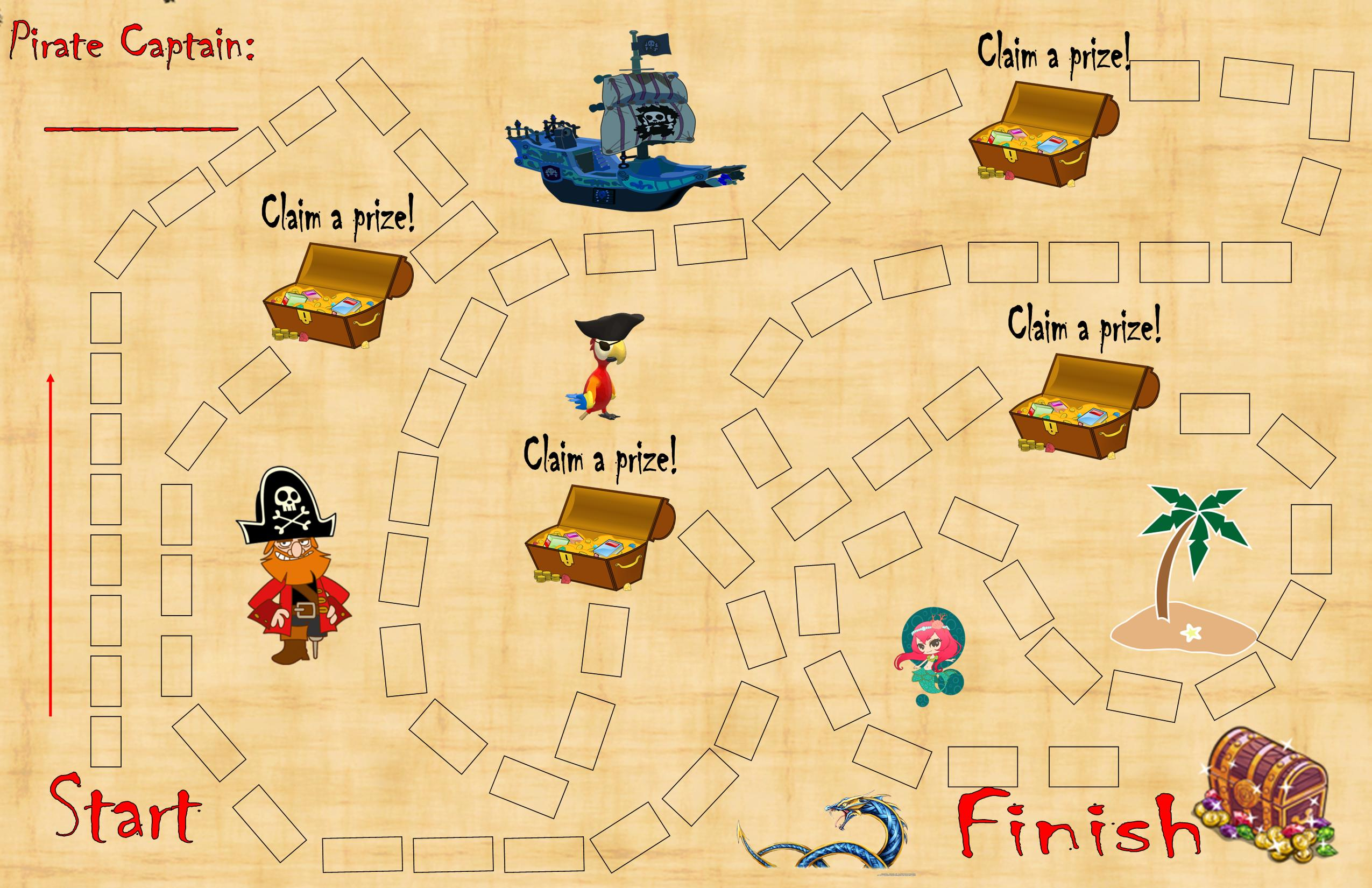Summer Reading Challenge - Pirate Map 2016 | The Library